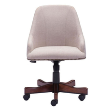 Zuo Era Maximus Office Chair in Beige