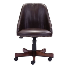 Zuo Era Maximus Office Chair in Brown