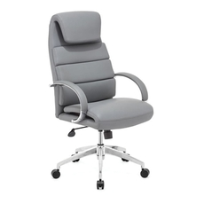Zuo Modern Lider Comfort Office Chair in Gray