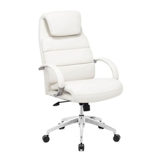 Zuo Modern Lider Comfort Office Chair in White