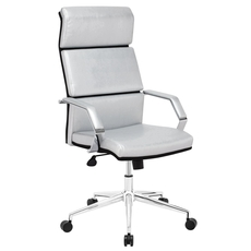 Zuo Modern Lider Pro Office Chair in Silver