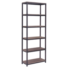 Zuo Era Mission Bay Tall 6 Level Shelf in Distressed Natural