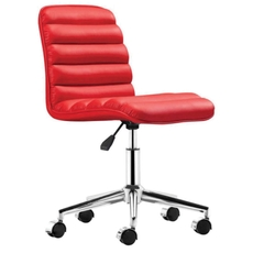 Zuo Modern Admire Office Chair in Red
