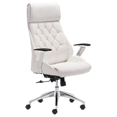 Zuo Modern Boutique Office Chair in White