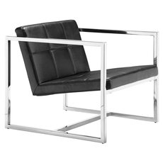 Zuo Modern Carbon Chair in Black
