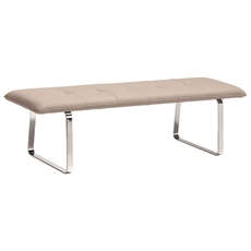 Zuo Modern Cartierville Bench in Taupe