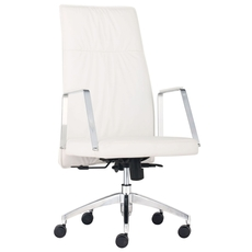 Zuo Modern Dean High Back Office Chair in White