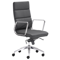 Zuo Modern Engineer High Back Office Chair in Black