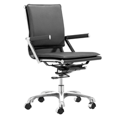 Zuo Modern Lider Plus Office Chair in Black