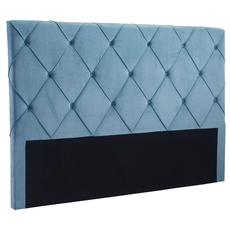 Zuo Modern Matias King Headboard in Blue Velvet