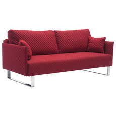 Zuo Modern Pax Sleeper Quilted in Red