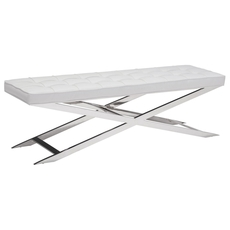 Zuo Modern Pontis Bench in White