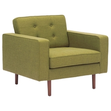 Zuo Modern Puget Arm Chair in Green