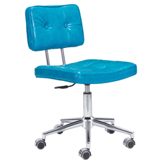 Zuo Modern Series Office Chair in Blue