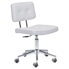 Zuo Modern Series Office Chair in White