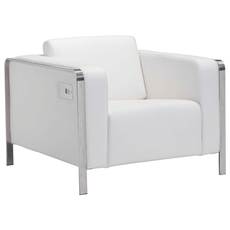 Zuo Modern Thor Arm Chair in White