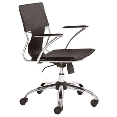 Zuo Modern Trafico Office Chair in Espresso