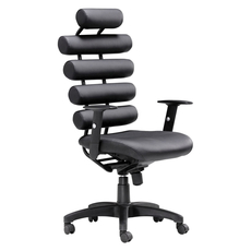 Zuo Modern Unico Office Chair in Black