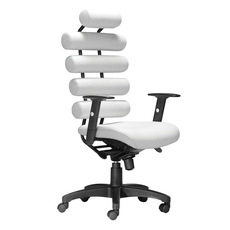 Zuo Modern Unico Office Chair in White