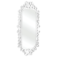 Zuo Pure Shiva Mirror with Clear Edge